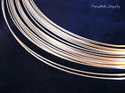5Ft 14KY Gold-Filled HH ROUND Jewelry Wire Wrap 16 18 19 20 21 22 24 26 GA Gauge