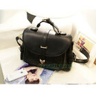 Fashion Women's PU Leather Shoulder Messenger Crossbody Tote Pack Bag Handbag