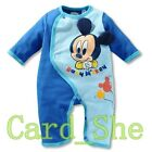 Newborn Baby Boys Girls Disney Animal Bodysuit Outfit Costume Romper Clothes Set