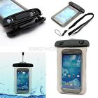 100% Waterproof Beach Bag Smart Phone Case Sand Dust Resistant + Lock Seal Pouch