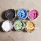1Pc Black Blue Pink White Green Orange Shimmer Highlight Eyeshadow Powder Makeup