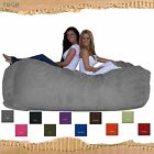Bean Bag Chair The Classic Lounger 8 Foot Foam Filled Fugu Brand in Microsuede