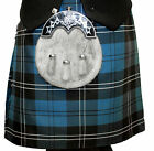 CHEIFTAIN Ramsey Blue 8 YARD DELUXE KILT £39.99 ALL SIZES BRAND NEW