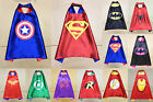 Children Super Hero Cape Kid Fancy Dress Costume Outfit New Halloween free size