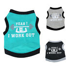 Cute Dogs Pet Puppy Cat Clothes Costume Vest Fashion Dog Clothing Shirt Apparel