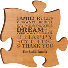 """Personalized """"Family Rules Always Be Truthful Say Your Prayers Dream Big Keep Y"""