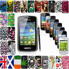 Hard Shell Back Skin Fits Protective Case Cover For Samsung Galaxy Phones+Stylus