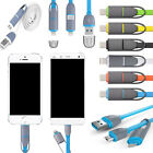 2 in 1 micro USB + Lightning Sync Data Charger Adaptor Cable For Samsung iPhone