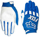 12007-002 Fox Gloves Dirtpaw Mens Race Blue MX ATV Off Road  Gloves