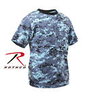 Rothco 5265 Kids Digital Camo T-Shirt - Sky Blue Digital Camo
