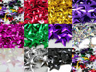 50g STAR 15mm SEQUINS EMBELLISHMENTS *11 COLOURS SEWING CARD CRAFTS TRIMMING ART