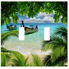 Tropical Beach Ocean Wall Plate Decorative Light Switch Plate Cover