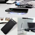 For Apple iPhone 7 6S 6 Plus QI Wireless Charger Charging Receiver Case Cover