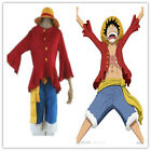 Animation One Piece Monkey D. Luffy 2 Years later Cosplay Costume Cloth  @20