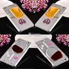 3D Red Wine Glass Hard Back Cover Shell Phone Case For Apple iPhone 6 4.7″ DZ88