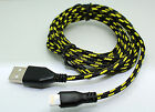 Strong Braided USB Charger Cable Data Sync Charge Cord for iPhone 5 5C 5S 6 6+