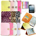 For Apple iPad Mini 1 2 3 Folio PU Leather Magnetic Flip Case Smart Cover Stand