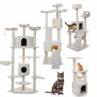"36 52 72 80"" Condo Furniture Scratching Post Pet Cat Tree Kitten House Bed House"