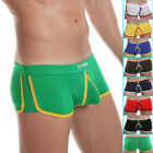 Fashion Men's Sexy Boxer Briefs Underwear Comfy Enhance Bulge Pouch Cheeky S~XL