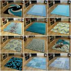 Teal Turquoise Blue Modern Rugs Small Large Rug Soft Thick Thin Mats Sale Rugs
