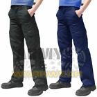 Ladies Womens Cargo Combat Work Trousers Healthcare Pants Part Elastic Waistband
