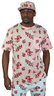 Moss New York Men's Gonzo Floral Striped Tee T-Shirt