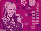 GENUINE HANNAH MONTANA FLEECE BLANKET KIDS BED SOFA MICROPHONE THROW 125cmx150cm