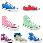 UNISEX CONVERSE ALL STAR CT HI LO TOP CANVAS LEATHER TRAINERS SHOES SIZE UK 6