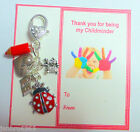 Thank You Gift for Childminder or Nursery School Teacher on Gift Card