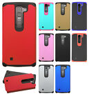 For LG Volt 2 LS751 HARD Astronoot Hybrid Rubber Silicone Case Phone Cover