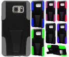 For Samsung Galaxy Note 5 Advanced KICK STAND Rubber Case Cover + Screen Guard