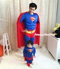 Halloween MUSCLE Super Hero Boy Kid Men Party Costume Outfit Cloth Set Gift 2-7Y