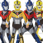 Transformers Boys Fancy Dress Superhero Movie Childrens Kids Costume Outfit
