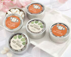 72 Personalized Born To Be Wild Round Silver Candy Tins B...