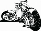 MOTORCYCLE #13  DECAL VINYL GRAPHIC  BIKE  CAR   VEHICLE  CROSS OVER  TRUCK SUV