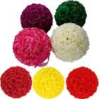 "7.8-9.8"" SILK Rose Pomander Flower Kissing Ball Wedding Party Garden Beautiful"