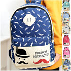 Fashion Girl Women Starry Casual Canvas Satchel Backpack Shoulder School Bag New