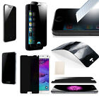 Tempered Glass/Privacy Anti-Spy Screen Protector iPhone 5/5S/6 Samsung S5 Note4