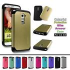 Shockproof Hybrid Tough Hard Slim Armour Cover for LG Optimus G2 D801 D802 Case