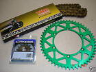 New THC Gold Chain And Green RFX Sprocket Kit KX 80 85 100 92-16 Motocross