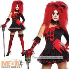 Jesterina Costumes Ladies Medieval Halloween Jester Womens Fancy Dress Outfit