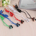 3.5mm Headset Headphone In-Ear Earbuds Earphone for Cell Phone iPhone iPod