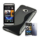 Unique S-Line Soft Silicone TPU Case Gel Back Cover For New HTC ONE M7