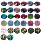 30 Resin Faceted Embellishment Cabochon Scrapbook DIY Cameo 32 Choices Flatbacks