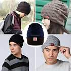 Men Star Beanie Baggy Slouchy Skullcap Stretchy Hat Winter Warm Hat Cap ItS7