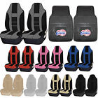 NBA Los Angeles Clippers Rubber Floor Mat High Back Seat Cover Universal Combo on eBay