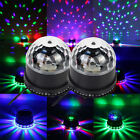 2X 48 LED Disco DJ Stage Light Magic Ball KTV Party Club Effect Lighting Black