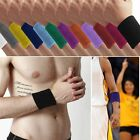 Unisex Basketball Tennis Yoga GYM Sports Sweatband Exercise Wristband Arm Band