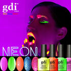 ALL NEW GDI NEON Range soak-off UV/LED gel nail polish- UK SELLER FREE SHIPPING