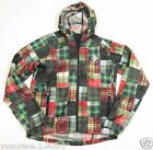 RLX Ralph Lauren Men's Auren Madras Print Full Zip Plaid Polyester Jacket $198